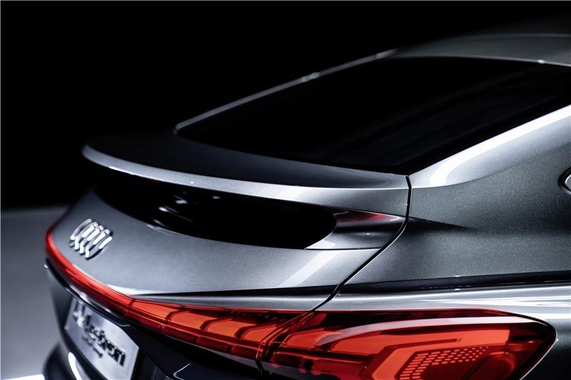 奧迪Q4 Sportback e-tron概念車首秀,WLTP續航450km