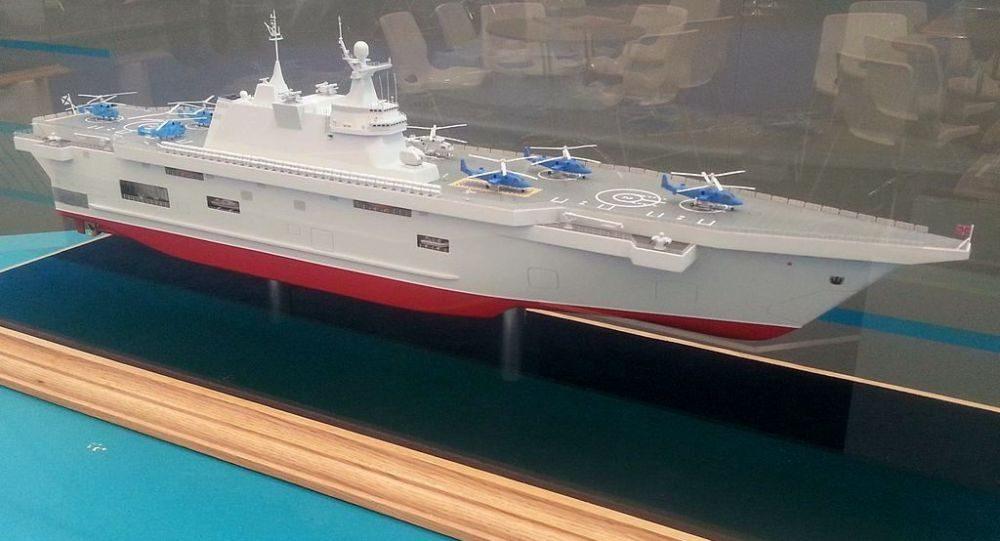 俄羅斯要造準航母了,在克里米亞同時開工建造兩艘