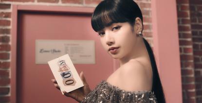 引領時尚潮流,lisa代言vivos7話題登十國熱搜