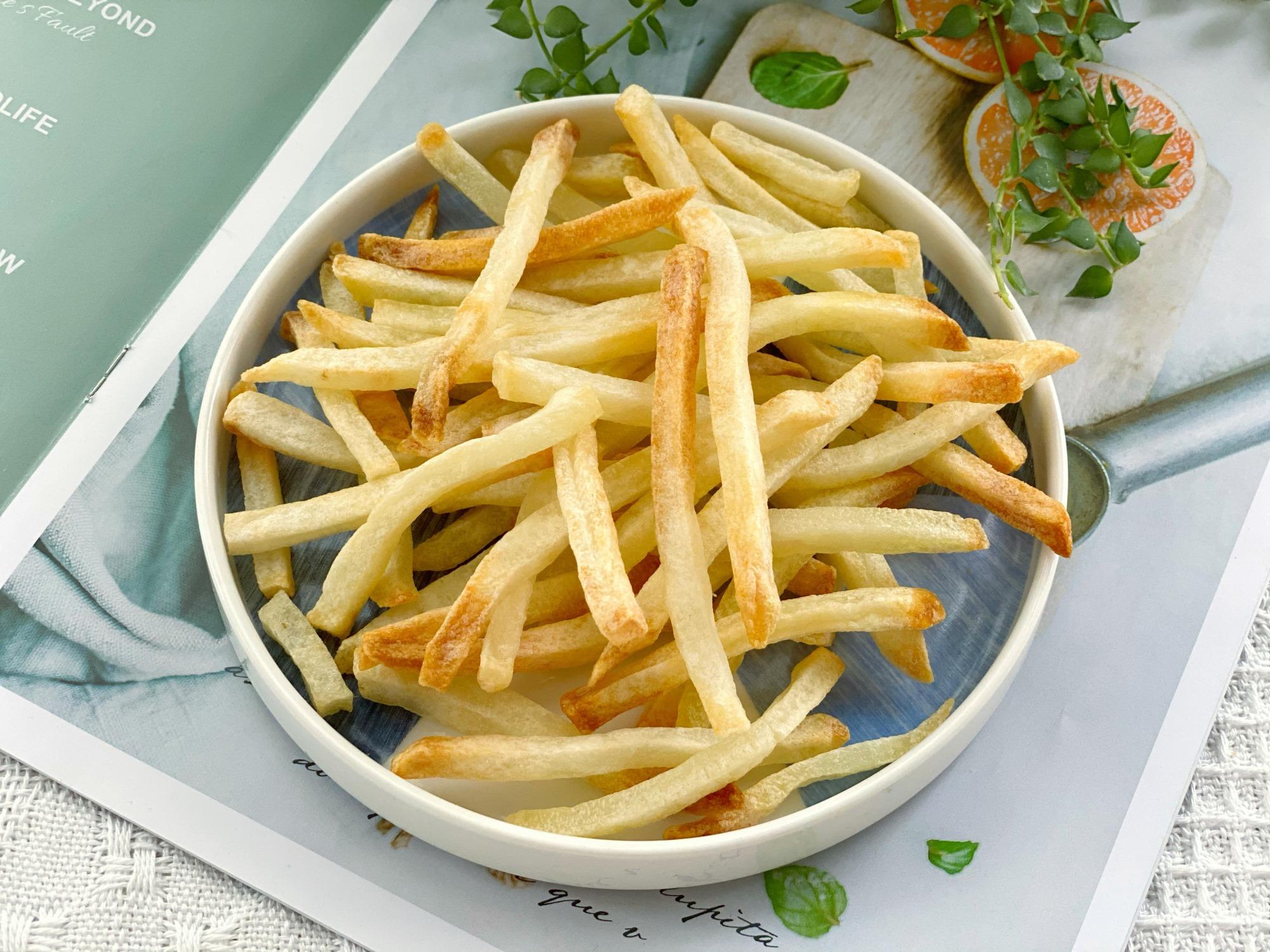 上海找代孕的论坛:想吃薯条自己做,不用油炸更省事,香酥美味吃了不胖又健