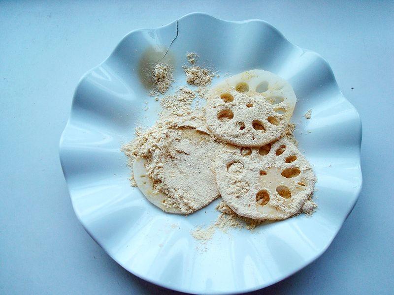 炸藕夹只加面粉,对不对?教你正确做法,又酥又脆又香