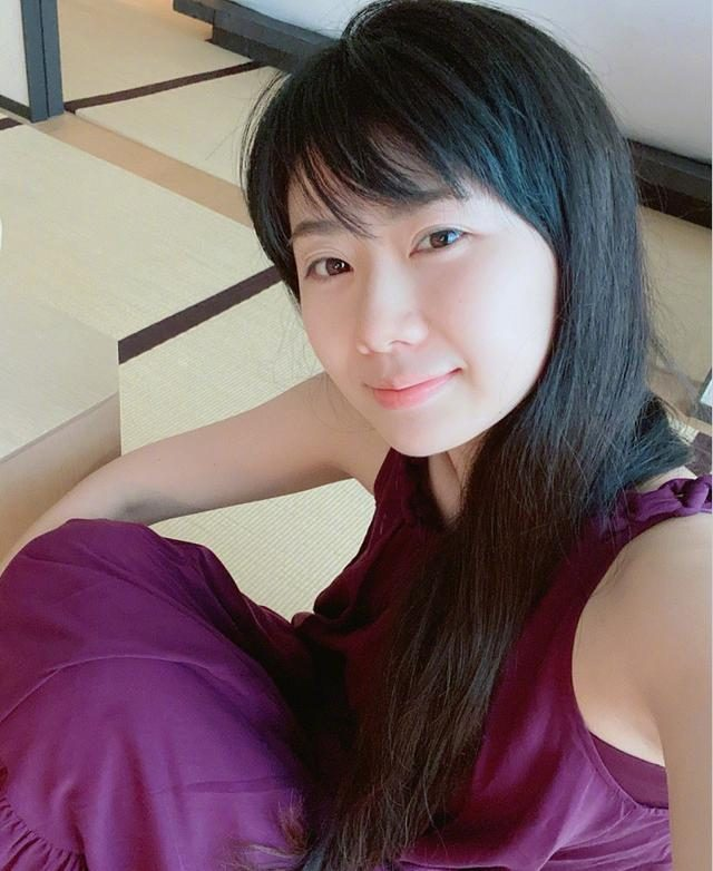 福原爱嫁到台湾后中文杆杆的,32岁瘦身成功不见婴儿肥