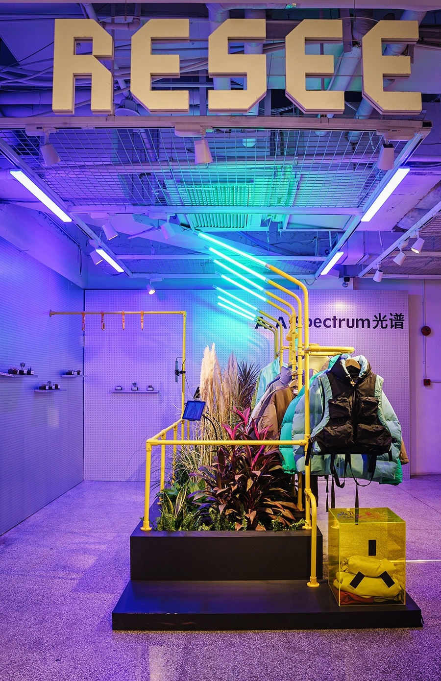新品发售 | AAS光谱公交车温室概念主题快闪店空降上海