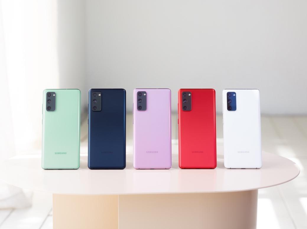 多彩外观高端品质三星Galaxy S20 FE 5G正式在国内发布
