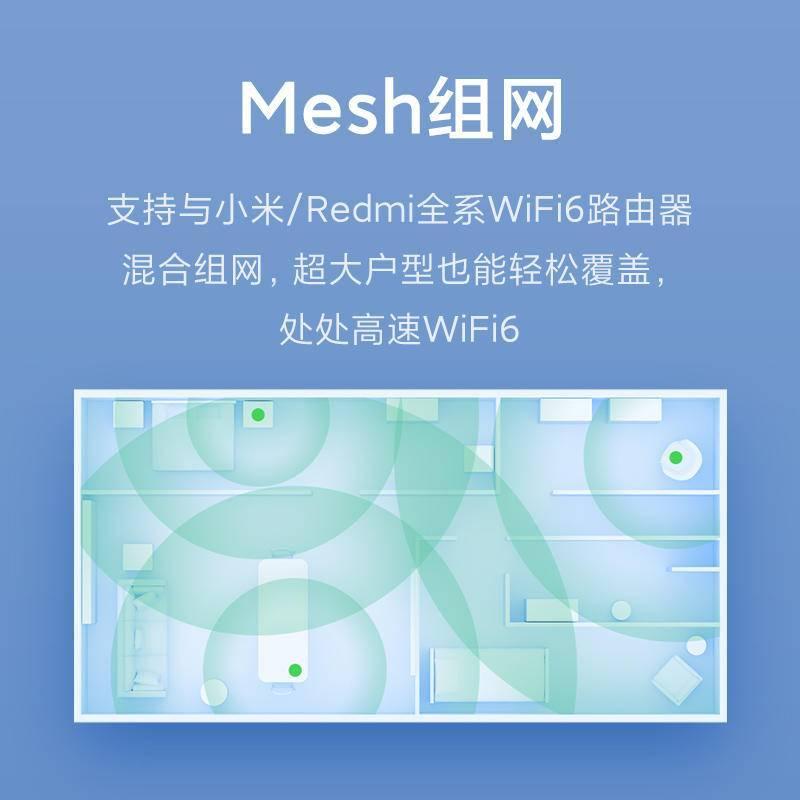 家里wifi网络拥堵手机网速变慢怎么办?低价WIFI6路由器为你提速(图4)