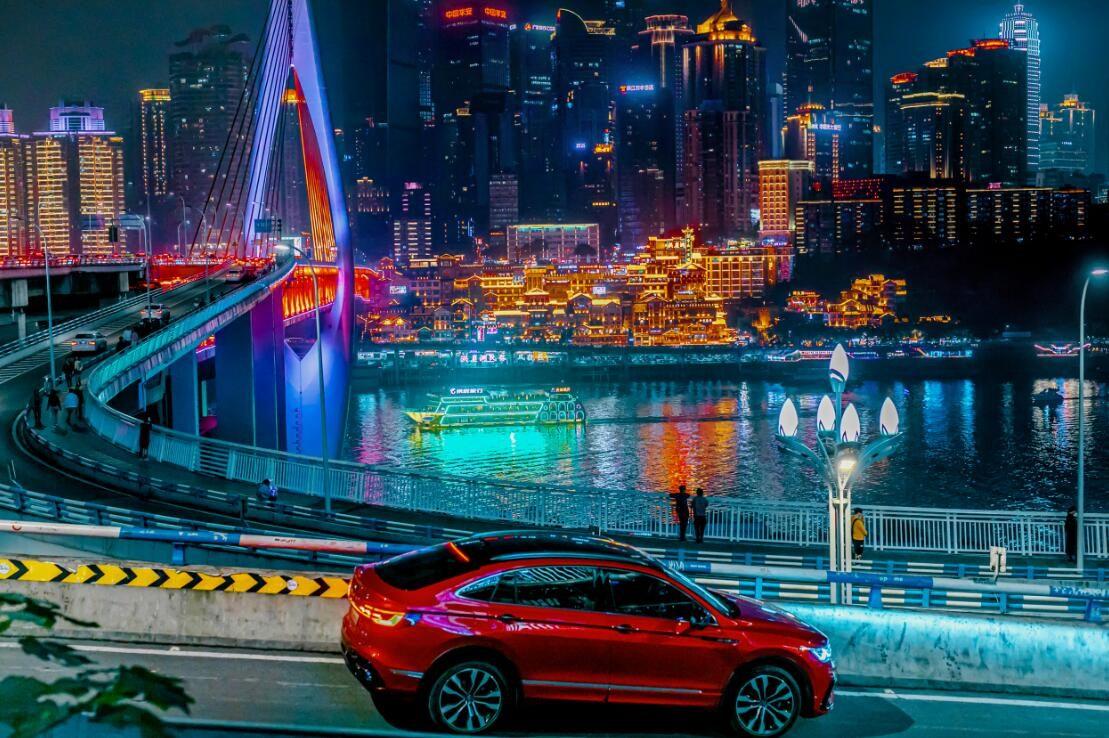 当未来遇见魔幻 试驾途观X征服网红城市重庆