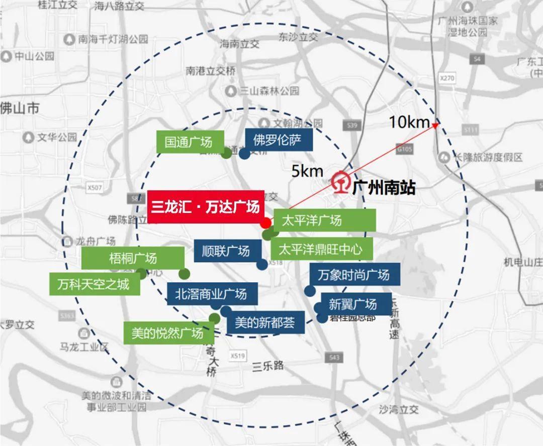 三龙湾唯一万达金街,TOD综合体+超千万客流,抢位双地铁上盖黄金铺