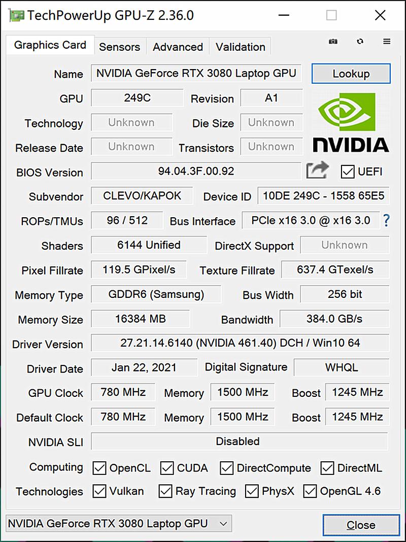 2021性价比最高游戏本,搭载RTX3080光追显卡配4K电竞屏就这一款(图9)