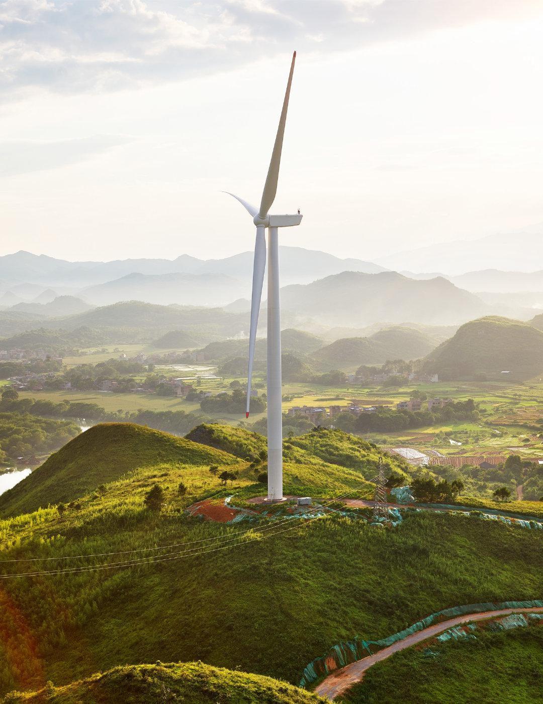 苹果成立的中国清洁能源基金投资三座风电场