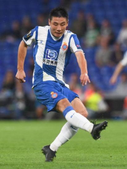 西班牙人1-1塞尔塔,赛后《每日体育报》评分,武磊拿到5分最低。