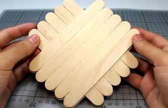 雪糕棒手工制作指尖陀螺