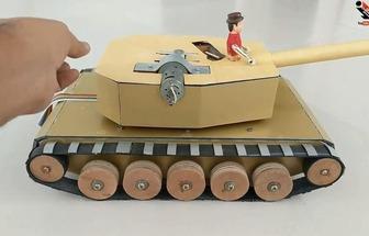 如何手工打造一輛遙控坦克