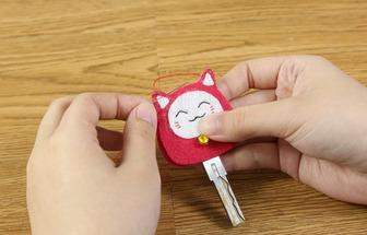 用旧布条DIY唯美钥匙扣