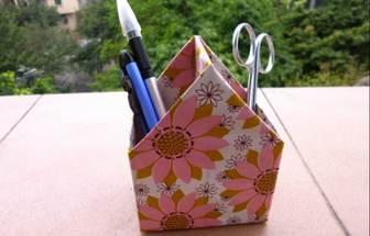 牙膏盒DIY簡單筆筒