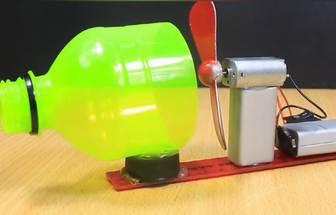 科技小创造:制造电动吹泡泡机