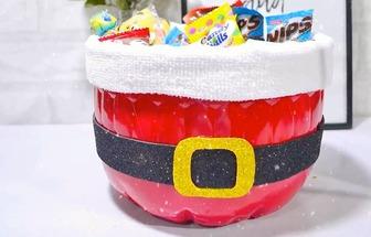 廢塑料瓶DIY可愛的糖果收納盒