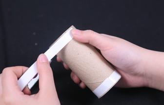 衛生紙筒DIY簡約禮品包裝盒
