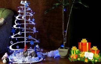廢紙板DIY剪裁漂亮的圣誕樹