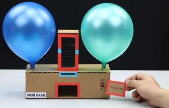 如何做個電動吹氣球機器