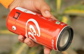 利用廢棄易拉罐做一個手機外放音箱