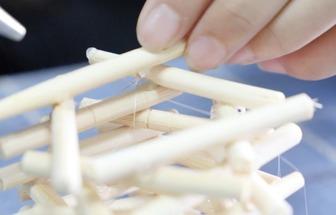 一次性筷子秒變好看的DIY花架子