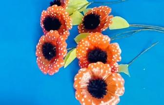 塑料瓶手工改造變成好看的花