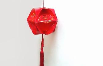 教你用利是封DIY簡單春節大紅燈籠