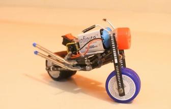 DIY電動玩具摩托車模型