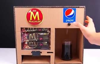 DIY創意十足的零食機飲料機
