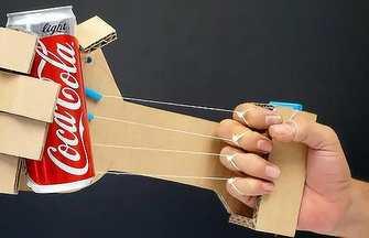 教你用硬紙板制作靈活的機器人手臂