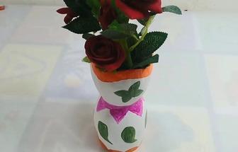 教你DIY一个简略大气的插花花瓶