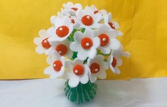 廢汽水瓶手工制作花藝擺件盆栽