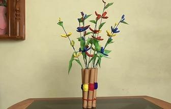 教你動手DIY有趣花生殼家居花藝