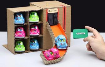如何制造紙板糖果車售賣機