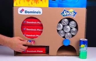 DIY汽水和披薩完美結合的零食機