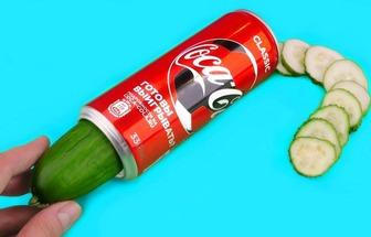 廢易拉罐DIY瓜果切片器