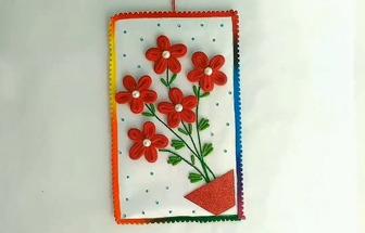 教你用舊頭繩和棉簽DIY家居壁掛裝飾畫