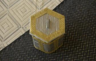 用舊報紙和紙板DIY一個簡單的六角儲物罐