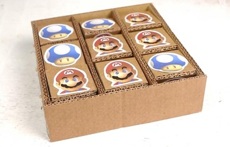 纸板DIY井字游戏板