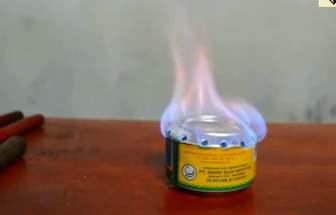 如何使用廢易拉罐做一個酒精爐