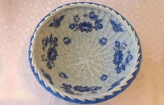 利用廢報紙手工編織漂亮的紙藝籃筐