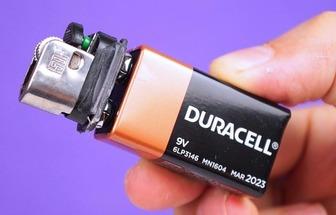 廢物利用做一個電熱打火機