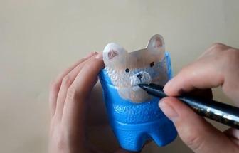 可樂瓶教你實用創意DIY小筆筒
