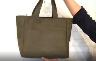 舊衣服舊被單簡單制作時尚又簡約包包