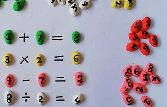 如何利用開心果殼DIY早教數學啟蒙玩具