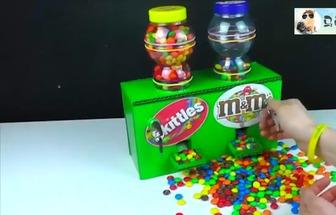 廢物利用制作有趣的MM糖果售賣機