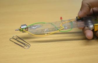 科技小發明:簡單手工制作電磁鐵