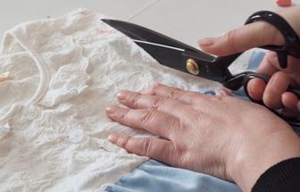 舊衣服改造:舊睡衣DIY兒童連衣裙