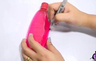 怎么將洗發水瓶子改造成為一個錢包