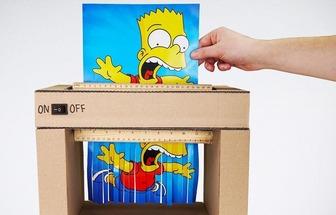 利用硬紙板做一臺小小的電動碎紙機